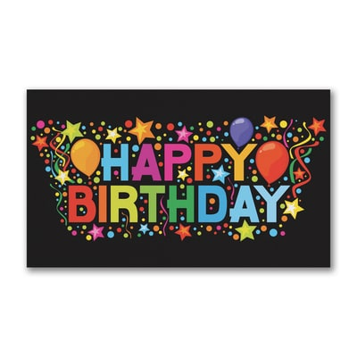 Confetti Explosion - Birthday Card