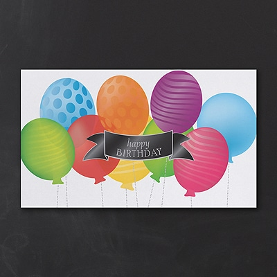 Birthday Balloons Cards