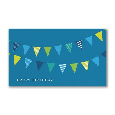 Breezy Banners - Birthday Card