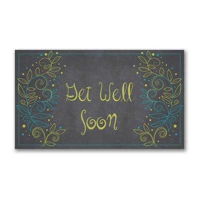 Get Well Climbing Foliage - Get Well Card