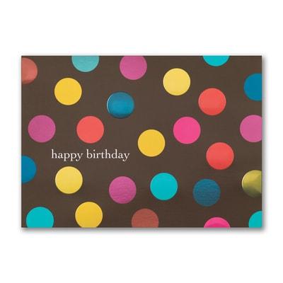 Birthday Polka Dots - Birthday Card