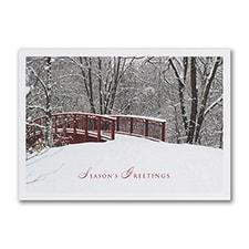 Winter Awaits - Holiday Card