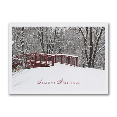 Winter Awaits - Holiday Card
