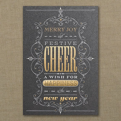 Festive Cheer - Holiday Card