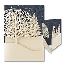 Christmas Treeline - Christmas Card