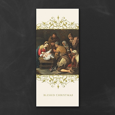 Blessed Christmas Greeting - Christmas Card