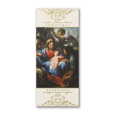 Adoration of our Lord - Christmas Card