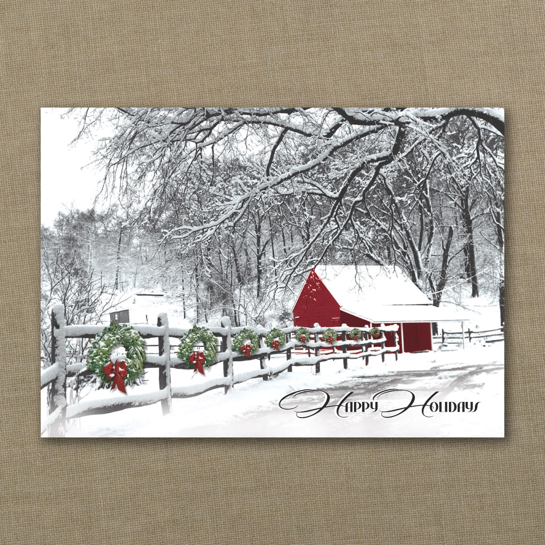 Country Christmas Scene