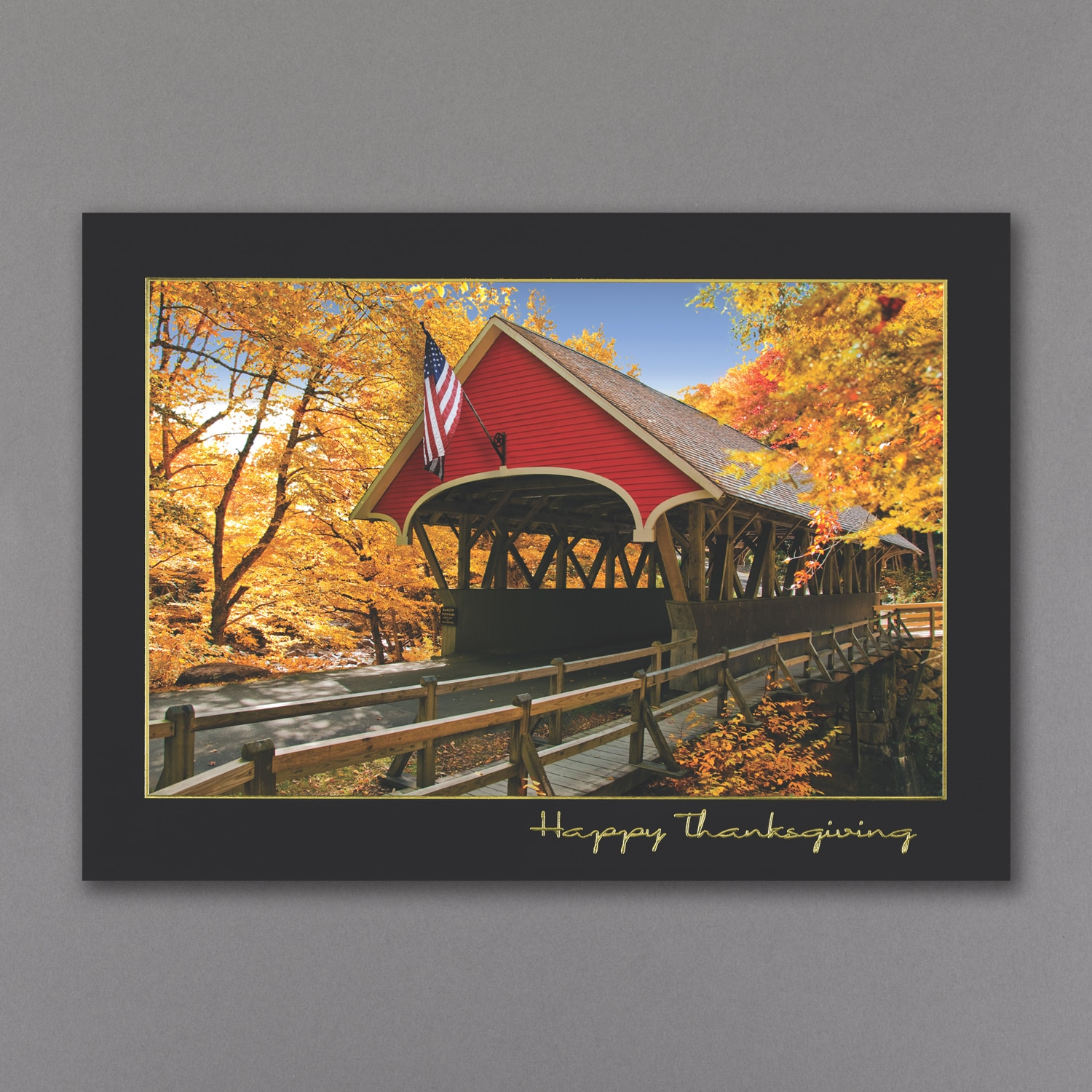 America The Beautiful Thanksgiving Card Thanksgiving Cards
