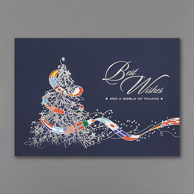 International Wishes - Holiday Card