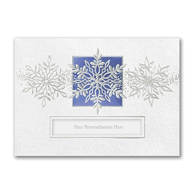Snowflake Trio - Holiday Card