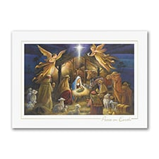 Radiant Nativity - Christmas Card
