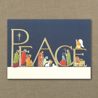 Come in Peace - Christmas Card