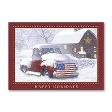 Holiday Americana - Holiday Card