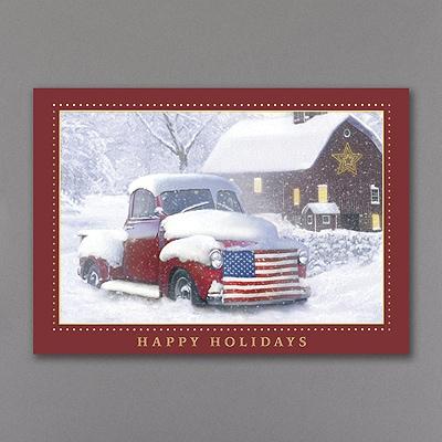 Holiday Americana - Holiday Card