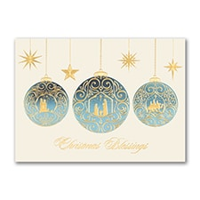 Christmas Blessings - Holiday Card