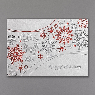 Snowflakes Galore - Holiday Card