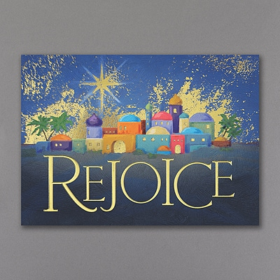 Bethlehem Rejoices - Holiday Card