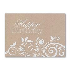 Birthday Flourishes Card