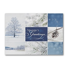 Winter Collage - Holiday Card