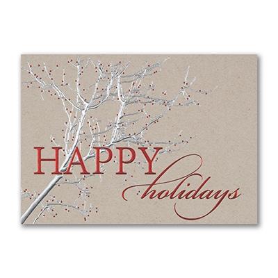 Rustic Holidays - Holiday Card
