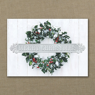 Rustic Beauty - Christmas Card