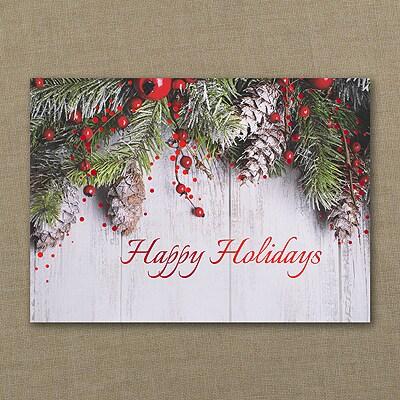 Holiday Swag - Holiday Card