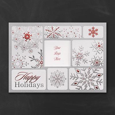 Snowflake Window - Holiday Card