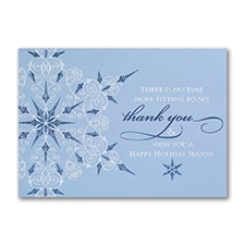Business Thank You Snowflake