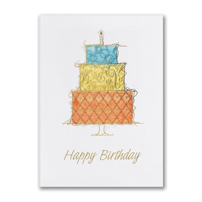 Ornate Birthday - Birthday Card