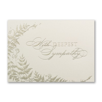 Natures Comfort - Sympathy Card