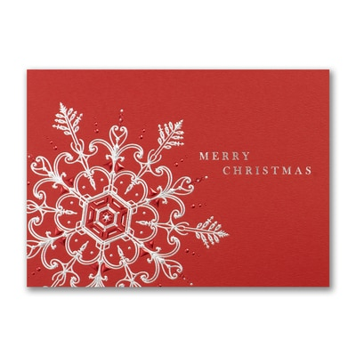 Snowflake Expression - Christmas Card