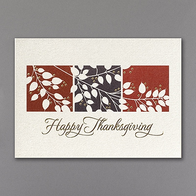 Thanksgiving Shimmer - Thanksgiving Card