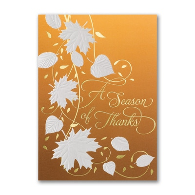 Leaves of Thanks - Holiday Card
