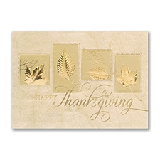 Cherished Thanksgiving - Thanksgiving Card
