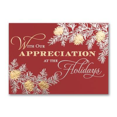 In Appreciation - Holiday Card