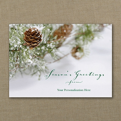 Holiday Evergreen - Holiday Card