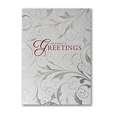 Simple Greeting - Holiday Card