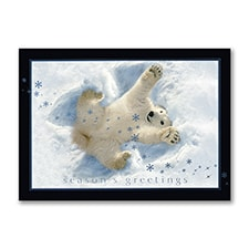 Snow Angel - Holiday Card