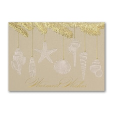 Seashell Wishes - Holiday Card