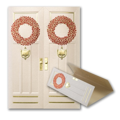Through These Doors - Holiday Card