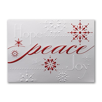 Glistening Peace - Holiday Card