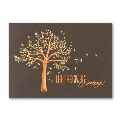 Fall Greetings - Thanksgiving Card
