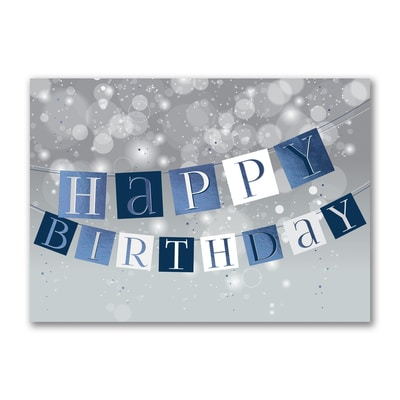 A Banner Birthday - Birthday Card