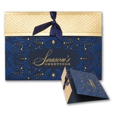 Wrapped Up in Blue - Holiday Card