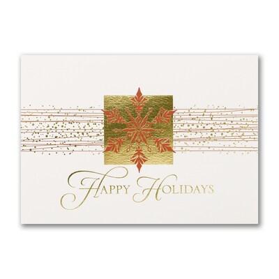 Happy Holidays Snowflake