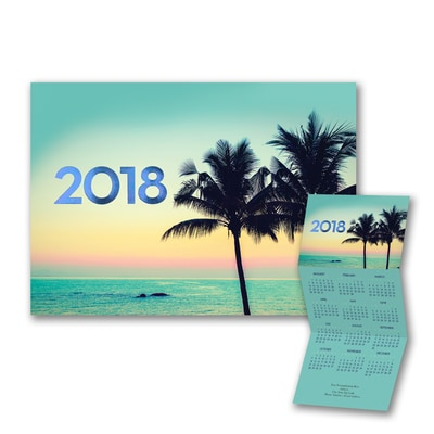 Tropical Paradise - Calendar Card