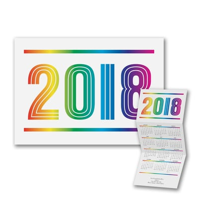 Colors of the Spectrum - Calendar Card