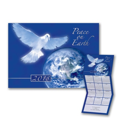 World Peace - Calendar Card