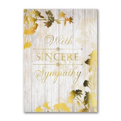 Sympathy Sincerity